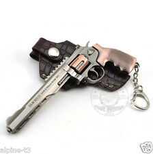 Cross Fire Weapon Gun Smith Wesson Model 500 Metal Military Pistol Keychain New