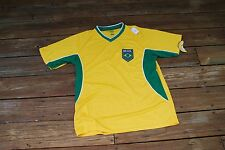 Brazil Adult XL Soccer Jersey by Chinox new with tags