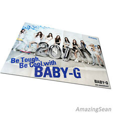 "SNSD Big Poster 28.3x20.5"", Baby-G 20th Anniversary with Girls generation Photo"