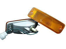 FRONT BUMPER LIGHT LAMP ORANGE FOR TOYOTA HILUX PICKUP MK3 LN85 89 1990 - 1995