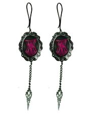 TOO FAST CAMEO SCISSOR EARRINGS (B1C)