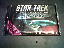 Star Trek The Original Series in motion 3 Lenticular Cards sealed packet
