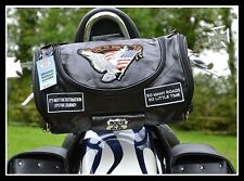 Sac sissi-bar Cuir Souple Aigle / Live To Ride ( custom harley virago intruder )