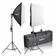 "Emart 1050W Photography 24""X24"" Softbox Continuous Lighting Studio Portrait K..."