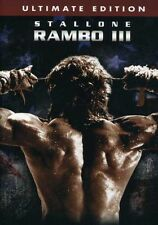 Rambo III [Ultimate Edition] (2004, DVD NEUF) WS