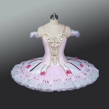 Professional Pink Summer Fairy, Sugar Plum, Coppelia, Doll, Aurora Tutu Costume
