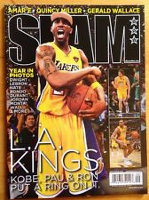 2010 Nba Slam Magazine Kobe Bryant Los Angeles Lakers Rare Gem Issue LA Kings !!
