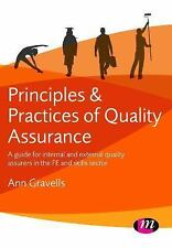 Principles and Practices of Quality Assurance : A Guide for Internal and...