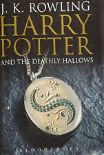 1st ED ADULT HARDBACK BOOK 7 HARRY POTTER AND THE DEATHLY HALLOWS J.K ROWLING
