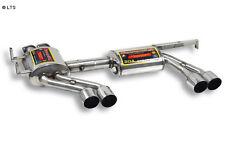 Supersprint Duplex sports exhaust RACE Version lightweight 2x80mm - BMW E46 M3