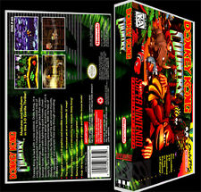 Donkey Kong Country  - SNES Reproduction Art Case/Box No Game.