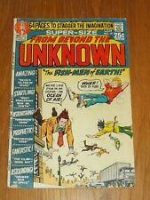 FROM BEYOND THE UNKNOWN #10 G+ (2.5) DC COMICS 64 PAGE GIANT MAY 1971