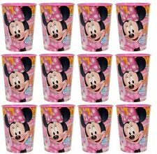 Disney Minnie Mouse (12) Plastic Cup 16oz Birthday Party Favors Supplies~