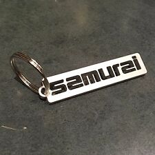 Suzuki Samurai CUSTOM keychain. cnc cut from 11gauge 304 stainless steel !