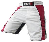 MMA Shorts, Fight Grappling Shorts Kick Boxing Cage Fighting Short - All Sizes