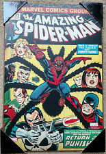 the Amazing Spider-Man #135 Comic Cover Vintage Wall Plaque Marvel Comics