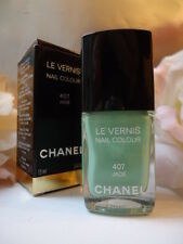 CHANEL JADE 407 VERNIS BEYOND RARE MINT AQUA NAIL VARNISH NEW IN BOX MINT COND;