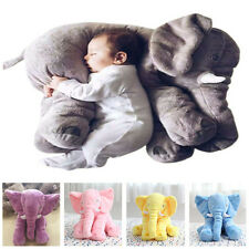 "Cute Jumbo Elephant Stuffed Animal 23.5"" Plush Kids Soft Toy Hot Sale!"