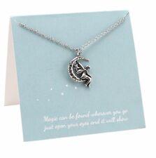 Collar de encanto de hadas en tarjeta de regalo: se puede encontrar mágico donde quiera que vayas solo..