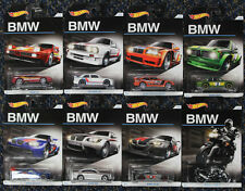 Mattel Hot Wheels BMW 100th Anniversary Set M1 e30 E36 M3 2002 GT2 Z4 M K1300 R
