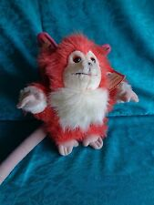 1986 DISNEY WORLD Michael Jackson Captain EO Plush FUZZBALL Orange Stuffed w TAG