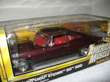 1967 CHEVY IMPALA MAROON  1:18 AUTHENTICS ERTL HI DETAIL! LIMITED ONLY 500 MADE
