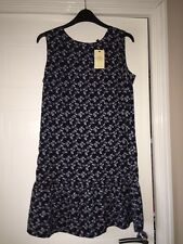 Next Umbrella Print Dress Size 10 Petite BNWT
