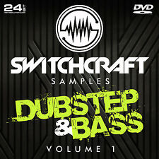 Dubstep & Bass Vol 1-Studio de 24bit wav / échantillons de production musicale-DVD