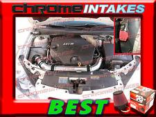 K&N+BLACK RED 07 08-11 CHEVY MALIBU/PONTIAC G6 3.6 3.6L V6 COLD AIR INTAKE KIT