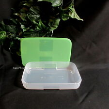 Tupperware NEW FREEZER  Mate Mates Smart Container 2 1/4 Cup Storage Green Seal