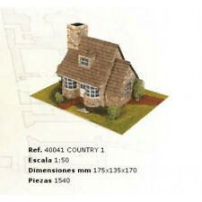 Elegant, finely detailed model kit by the masters at Domus: Country 1