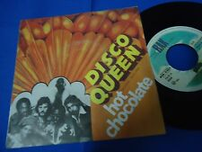 HOT CHOCOLATE - DISCO QUEEN - PORTUGAL 45 SINGLE