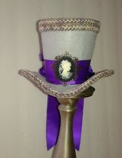 Mini Steampunk Tea Party Fascinator Cosplay Top Hat Gothic Mad Hatter Dickens