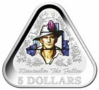 2016 $5 REMEMBER THE FALLEN TRIANGULAR SILVER PROOF COIN