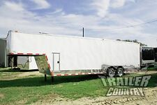 NEW 2017 8.5x32 8.5 x 32 Enclosed Gooseneck Cargo Trailer Car Race Auto Hauler