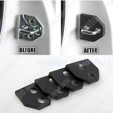 4PCS Door Lock Protector Cover Buckle Decoration For Subaru Forester 2009-2015