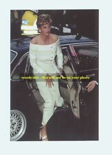 """mm143 - Princess Diana arrives for function - Royalty photo 6x4"""""""
