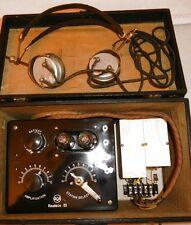 Radiola III Radio 1924 FULLY RESTORED Bundled Case + Brandes Headset VINTAGE