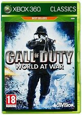 Call of Duty World at War Classics Xbox 360 NEW SEALED FAST DISPATCH