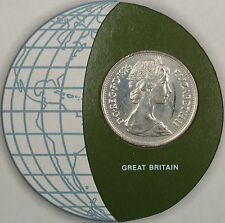 Coins of All Nations 1979 10 New Pence Great Britain Coin and Stamp Set