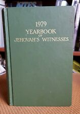 1979 Yearbook of Jehovah Witnesses Watch Tower 1978 Service Year HC Vintage Book