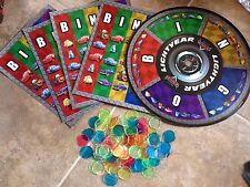 Extra Bingo Cards, Wheel & Chips Disney The World Of Cars Game Set 8 Or 10