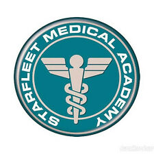 "Star Trek: Starfleet Medical Academy 4"" Logo Patch -FREE S&H  (STPA-SFC-5)"