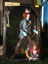 *UK SELLER* RARE BARBIE Johnny Depp Alice In Wonderland Mad Hatter Doll