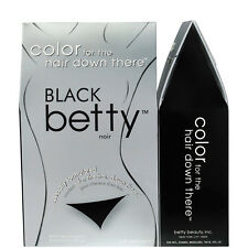 Betty Colour Ladies Mens Permanent Pubic Bikini Hair Colouring Hair Dyeing Black