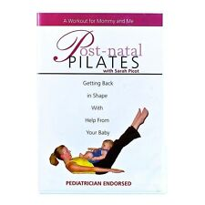 New DVD Post-natal PILATES: A Workout for Mommy and Me with Sarah Picot