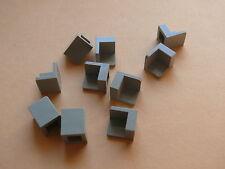 Lego 10 panneaux gris clair 5571 7171 7130 1254 /10 old light gray corner panels