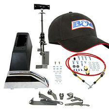 B&m 80681 Z-gate Universal Automatic 3 Speed Floor Shifter & Black B&M Hat