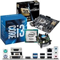 INTEL Core i3 6100 3.7Ghz & ASUS H110M-A - Motherboard & CPU Bundle