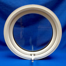 PVC Full Opening Plastic Round Porthole Circle Circular Window Double Glazed